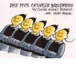 Portada de [THE FIVE CHINESE BROTHERS] [BY: CLAIRE HUCHET BISHOP]