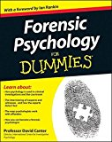 Portada de FORENSIC PSYCHOLOGY FOR DUMMIES BY DAVID CANTER (2012-05-14)