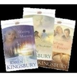 Portada de KAREN KINGSBURY FOREVER FAITHFUL COLLECTION: WAITING FOR MORNING / A MOMENT OF WEAKNESS / HALFWAY TO FOREVER BY KINGSBURY, KAREN (2005) PAPERBACK