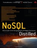 Portada de NOSQL DISTILLED: A BRIEF GUIDE TO THE EMERGING WORLD OF POLYGLOT PERSISTENCE BY SADALAGE, PRAMOD J., FOWLER, MARTIN (2012) PAPERBACK