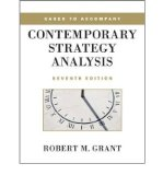 Portada de [(CASES TO ACCOMPANY CONTEMPORARY STRATEGY ANALYSIS )] [AUTHOR: ROBERT M. GRANT] [APR-2010]