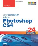 Portada de SAMS TEACH YOURSELF ADOBE PHOTOSHOP CS4 IN 24 HOURS (SAMS TEACH YOURSELF...IN 24 HOURS) BY KATE BINDER (3-NOV-2008) PAPERBACK