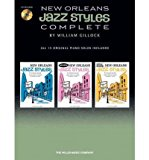Portada de [(NEW ORLEANS JAZZ STYLES - COMPLETE: ALL 15 ORIGINAL PIANO SOLOS INCLUDED)] [AUTHOR: WILLIAM GILLOCK] PUBLISHED ON (JULY, 2011)