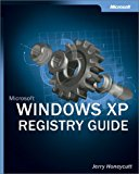 Portada de MICROSOFT WINDOWS XP REGISTRY GUIDE (BPG-OTHER) BY JERRY HONEYCUTT (2002-10-11)